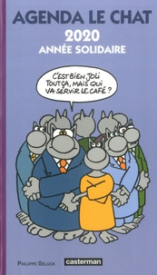 Philippe Geluck - Agenda Le chat - 2020 année solidaire.
