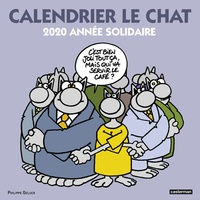 Philippe Geluck - Calendrier Le chat - 2020 année solidaire.