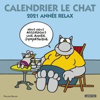 Philippe Geluck - Calendrier Le Chat - Année relax.