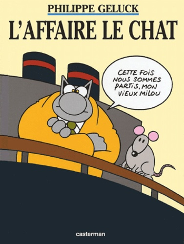 Philippe Geluck - Le Chat Tome 11 : L'affaire Le Chat.