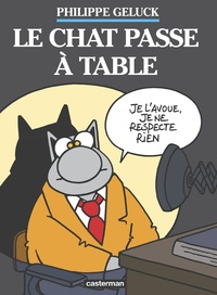 Philippe Geluck - Le Chat Tome 19 : Le chat passe à table - Coffret en 2 volumes : Le chat est parti ; Il n'y a pas un chat.