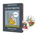 Philippe Geluck - Le Chat Tomes 17 et 17 bis : Le Chat erectus ; Le Chat sapiens - Coffret en 2 volumes. 2 DVD