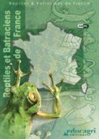 Philippe Geniez et Marc Cheylan - Reptiles et Batraciens de France - CD-ROM.