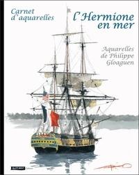 Philippe Gloaguen - L'Hermione en mer.