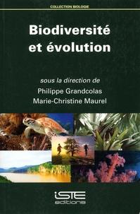 Philippe Grandcolas et Marie-Christine Maurel - Biodiversité et évolution.