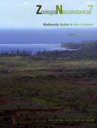Philippe Grandcolas - Zoologia Neocaledonica - Volume 7, Biodiversity studies in New Caledonia. 1 Cédérom