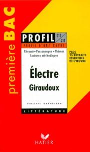 """Philippe Grandjean - """"Électre"""", 1937, Jean Giraudoux - Résumé, personnages...."""