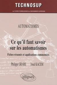 Ce quil faut savoir sur les automatismes, Niveau A - Fiches-résumés et applications commentées.pdf