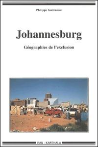 Goodtastepolice.fr Johannesburg. Géographies de l'exclusion Image