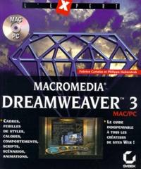 Macromedia Dreamweaver 3. Avec CD-Rom - Philippe Haberstroh   Showmesound.org