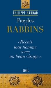 Philippe Haddad - Paroles de rabbins.