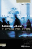 Philippe Hamman - Sociologie urbaine et développement durable.