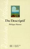 Philippe Hamon - Du descriptif.