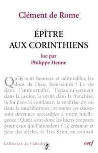 Philippe Henne - Clément de Rome : Épître aux Corinthiens.