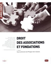 Philippe-Henri Dutheil - Droit des associations et fondations.