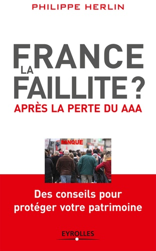 France, la faillite ? - Philippe Herlin - 9782212029536 - 9,99 €