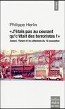 """Philippe Herlin - """"J'étais pas au courant qu'c'était des terroristes !"""" - Jawad, l'islam et les attentats du 13 novembre 2015 à Paris."""