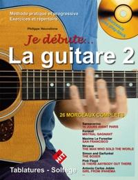 Philippe Heuvelinne - La guitare - Volume 2. 1 CD audio