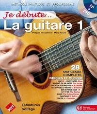 Philippe Heuvelinne - La guitare. 1 DVD + 1 CD audio