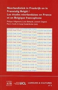 Philippe Hiligsmann et Ludo Beheydt - Les études néerlandaises en France et en Belgique francophone.