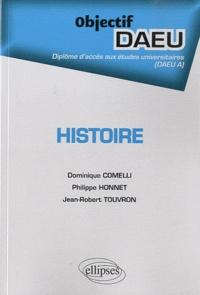 Philippe Honnet et Dominique Comelli - Histoire.