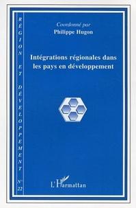 Philippe Hugon et Henri Regnault - Région et Développement N° 22/2005 : Intégrations régionales dans les pays en développement.