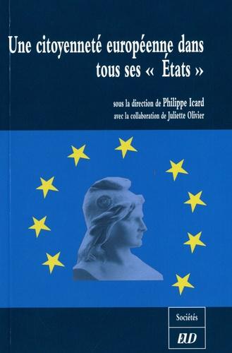"""Philippe Icard - Une citoyenneté européenne dans tous ses """"Etats""""."""