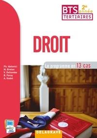 Philippe Idelovici - Droit BTS tertiaires 2e année - Le programme en 13 cas.