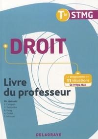Philippe Idelovici - Droit Tle STMG - Livre du professeur.
