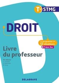 Philippe Idelovici et Elisabeth Campain - Droit Tle STMG - Livre du professeur.