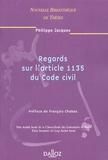 Philippe Jacques - Regards sur l'article 1135 du Code civil.