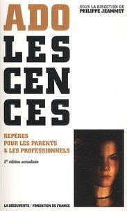 Philippe Jeammet - Adolescences - Repères pour les parents et les professionnels.