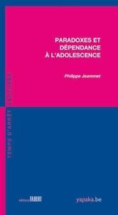 Philippe Jeammet - Paradoxes et dépendance à l'adolescence.