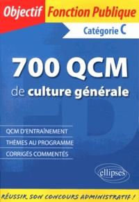 700 QCM de culture générale- Catégorie C - Philippe-Jean Quillien |