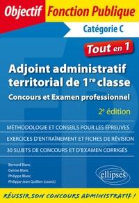 Histoiresdenlire.be Adjoint administratif territorial de 1re classe Catégorie C - Concours et examen professionnel Image