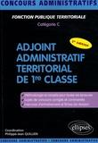 Philippe-Jean Quillien et Catherine Chapelle - Adjoint administratif territorial de 1re classe.