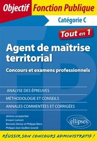 Deedr.fr Agent de maîtrise territorial - Tous les concours et examens professionnels, catégorie C Image