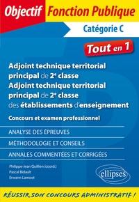 Philippe-Jean Quillien - Agent technique territorial principal de 2e classe, adjoint technique territorial principal de 2e classe des établissements d'enseignement - Catégorie C. Concours et examen professionnel.