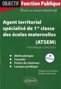 Philippe-Jean Quillien et Brigitte Sablonnière - Agent territorial spécialisé de 1re classe des écoles maternelles (ATSEM).