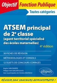 Philippe-Jean Quillien et Christine Mauneau - ATSEM principal de 2e classe (agent territorial spécialisé des écoles maternelles).