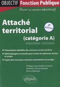 Philippe-Jean Quillien et Valentine Drevet-Benatti - Attaché territorial (catégorie A) - Nouveaux concours.