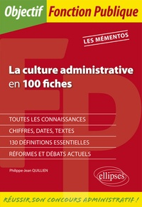 Histoiresdenlire.be La culture administrative en 100 fiches Image
