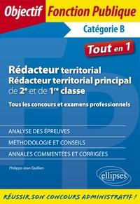 Philippe-Jean Quillien - Rédacteur territorial, rédacteur territorial principal de 2e et 1re classe - Tous les concours et examens professionnels.