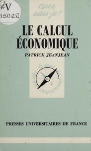 Philippe Jeanjean - Le Calcul économique.
