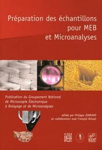 Era-circus.be Préparation des échantillons pour MEB et Microanalyses Image