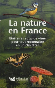Galabria.be La nature en France - Itinéraires et guide visuel pour tout reconnaître en un coup d'oeil Image
