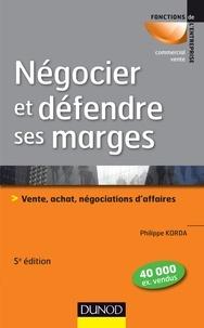 Histoiresdenlire.be Négocier et défendre ses marges - Vente, achat, négociations d'affaires Image