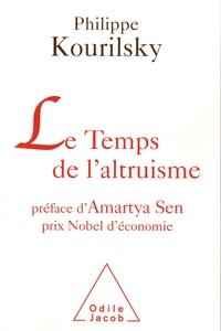 Philippe Kourilsky - Le Temps de l'altruisme.