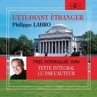Philippe Labro - L'étudiant étranger.