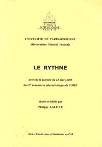 Philippe Lafitte - Le rythme.